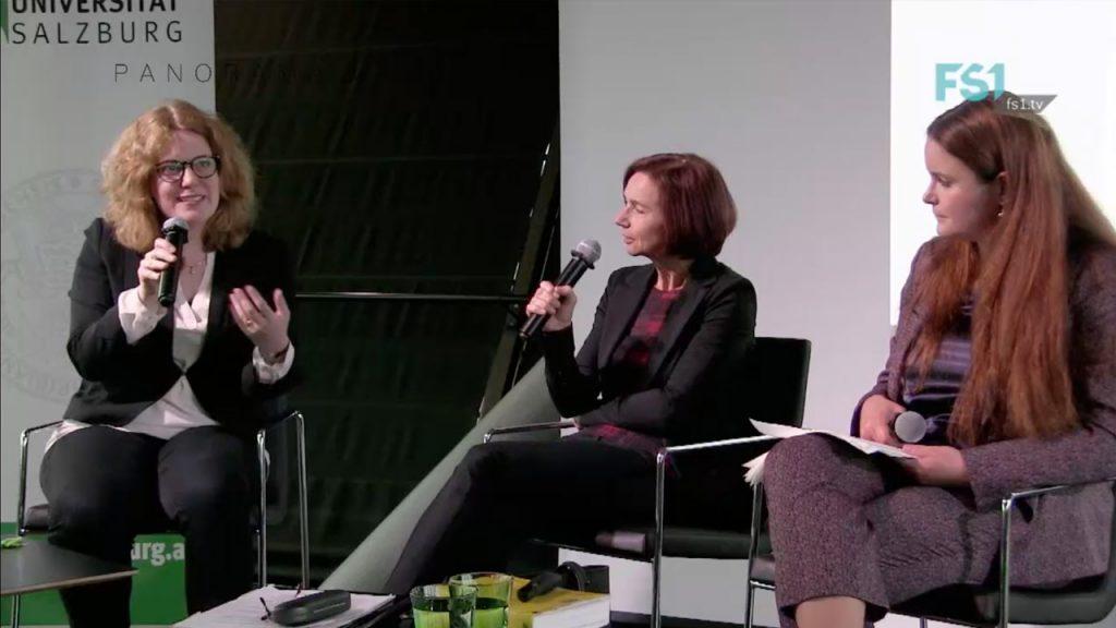 Christine Lohmeier, Kommunikationswissenschaftlerin und Nina Schallmoser, Strafrechtsexpertin